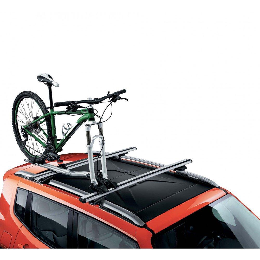 Portabici su barre portatutto accessori auto for Barre portatutto t roc