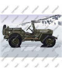 Jeep Wyllis MB, 1942 - vista laterale