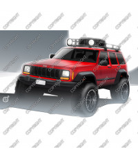 Jeep XJ Cherokee, 1984