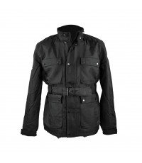 BLACK MEN'S JEEP PADDED JACKET