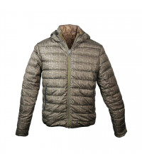 GREEN/ORANGE MEN'S JEEP PADDED JACKET