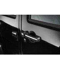 Chrome door handle covers