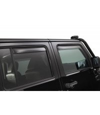 TINTED AIR DEFLECTORS FOR REAR WINDOWS