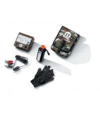 TIRE INFLATOR KIT WITH AIR COMPRESSOR