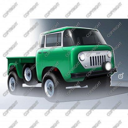 Jeep FC, 1956