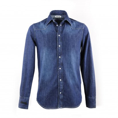 LONG-S. MEN'S JEEP DENIM SHIRT