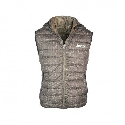 SLEEVELESS MEN'S JEEP QUILTED JACKET