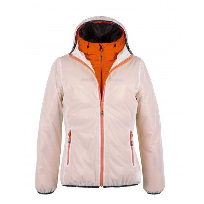 DAUNENJACKE DAMEN JEEP ORANGE TECHNO