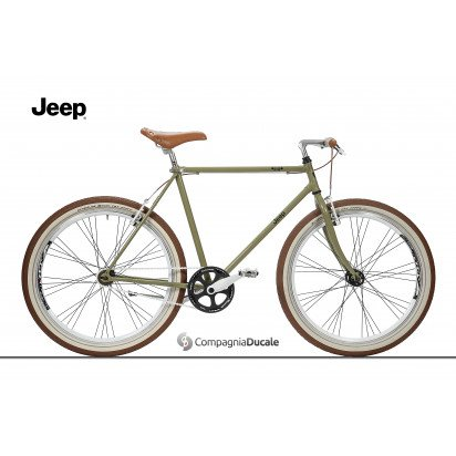ONE-SIZE WOOD GREEN URBAN JEEP BIKE