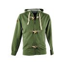 DARK GREEN MEN'S JEEP HOODED SWEATSHIRT