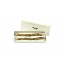 SET OF 2 JEEP NATURAL WOOD PENCILS