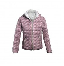 GREY/VIOLET WOMEN'S JEEP QUILTED JACKET