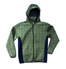 GREEN UNISEX WINDP./RAINP. JEEP JACKET