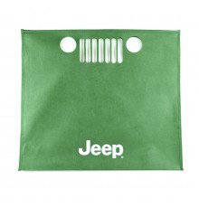 GREEN NON-WOVEN FABRIC JEEP SHOPPING BAGS